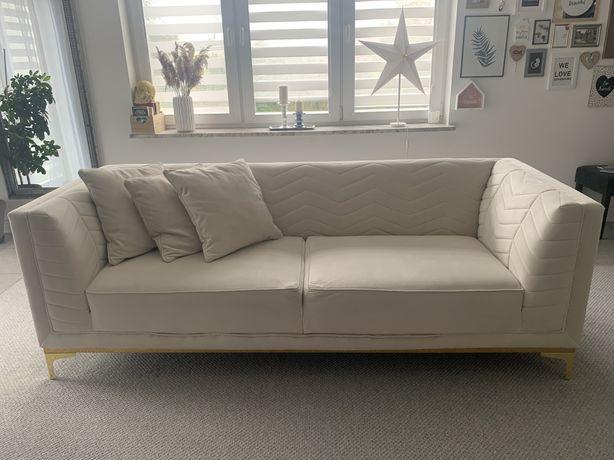 Włoska sofa z weluru