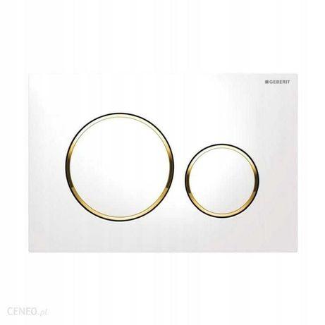 Geberit Sigma 20 biały/złoty/biały 115.882.KK.1