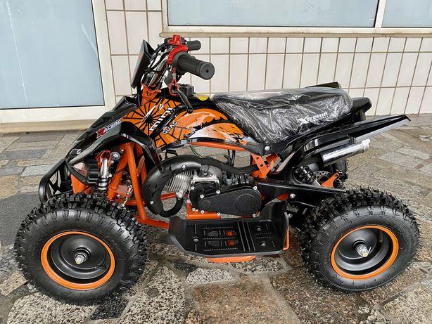 Mini moto 4 de 49cc a gasolina!
