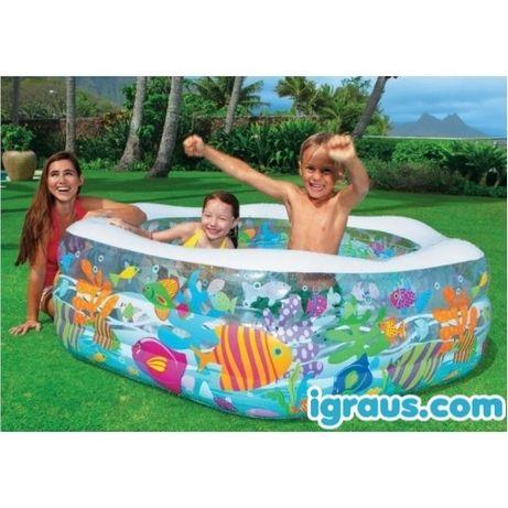 Детский надувной бассейн Intex 56493 Океанский риф