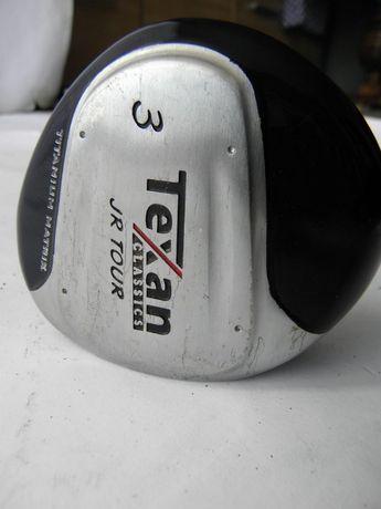 Kij do golfa golfowy driver 3 TEXAN JR TOUR junior