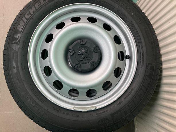 "Koła 16"" Peugeot Partner Michelin Energy Saver+ 205/60R16 Felgi Kołpak"
