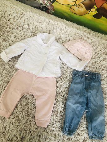 Ветровка Chicco,штаны Zara,джинсы H&M
