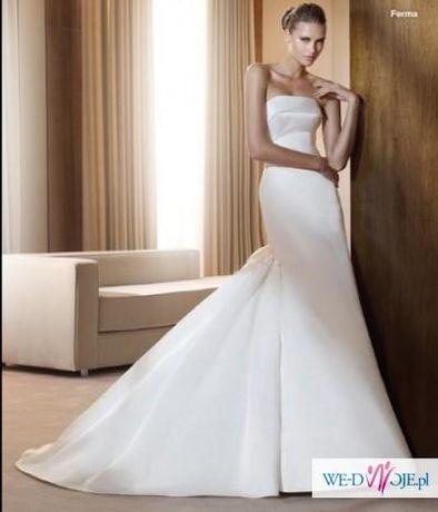 suknia ślubna Pronovias model Ferma