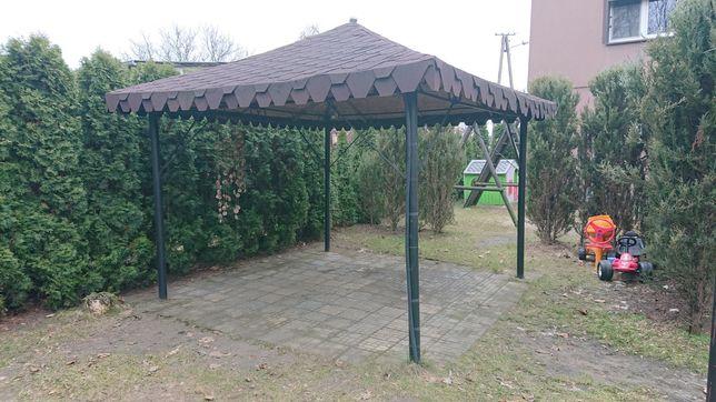 Altana ogrodowa -konstrukcja