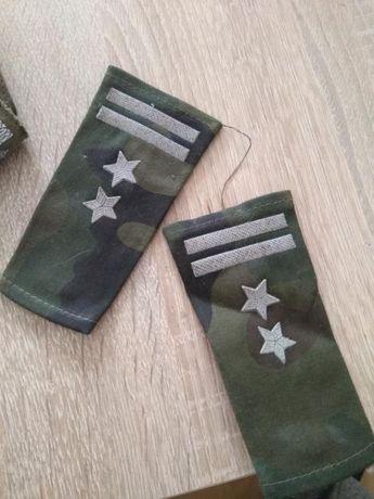 Nowe pagony wojskowe podpulkownik