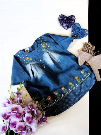 Sukienka 62, 68, 74 styl Zara HM Next Reserved Coccodrillo