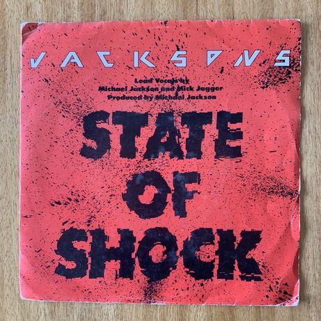 "Jackson 5 feat. Mick Jagger - State Of Shock (vinil single 7"")"