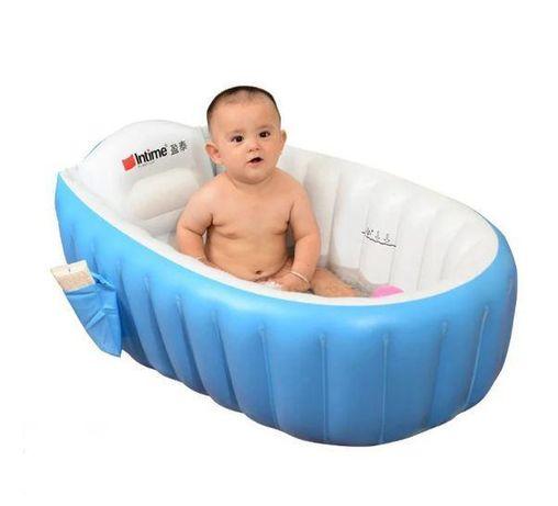 Надувная ванночка + насос