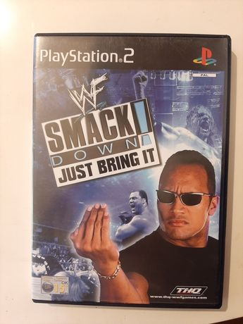 WWF Smackdown Just Bring it playstation 2