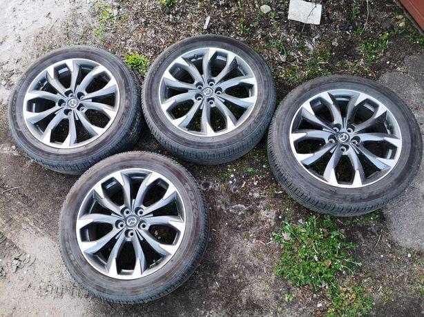 Диски с летней резиной Mazda 225 55 r19
