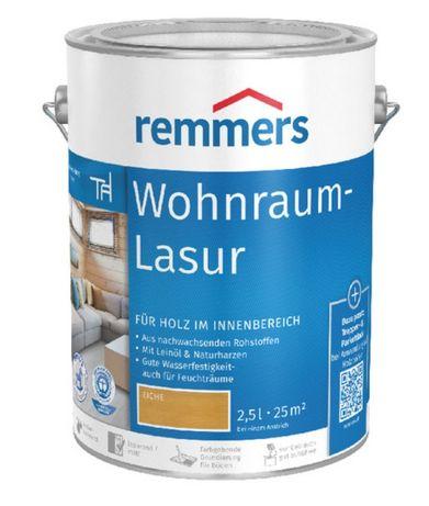 Lazura woskowa do wnętrz Wohnraum-Lasur/Remmers 10l Świerzów