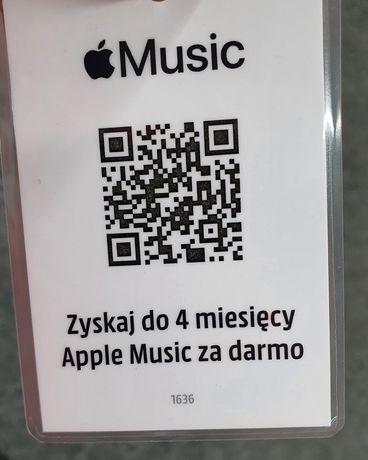 Apple Music 4 miesiące za free