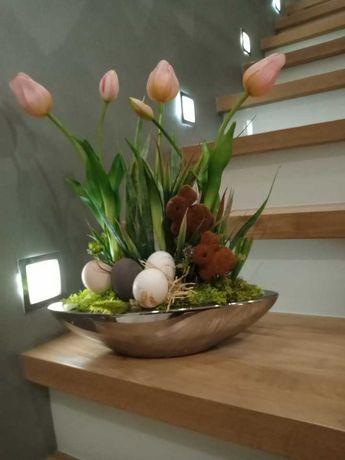 Stroik wielkanocny tulipany najwyższej jakosci
