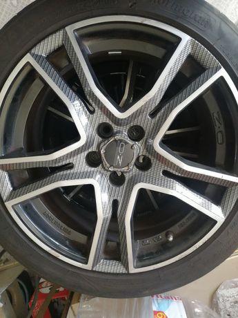 Jantes 17 OZ 5x100 com pneus