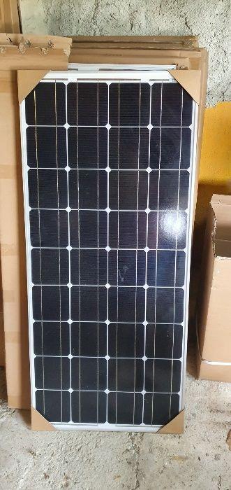 Painel solar 100w 12 v monocristalino NOVOS GARANTIA Fernão Ferro - imagem 1