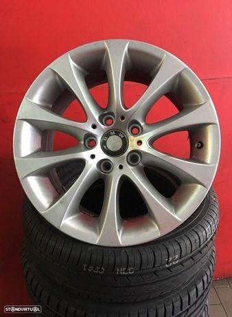 Jantes 17 Originais bmw serie 3 8x17 et 34 usadas em bom estado com pneus usados