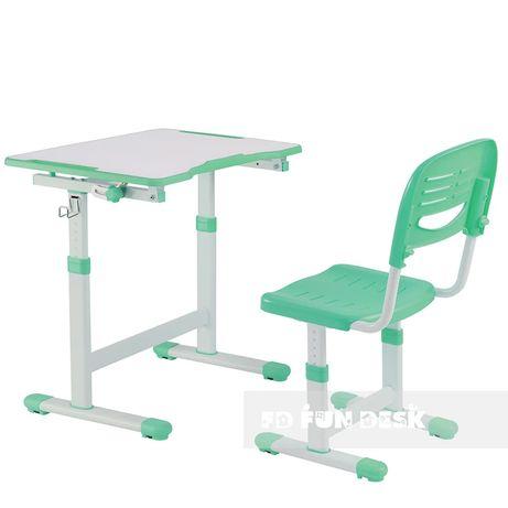Детская парта+стульчик FunDesk Piccolino2 BlueGreyPink+бесп.дост