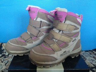 Ботинки для девочки, Зима, р.31, 19см, MOORHEAD