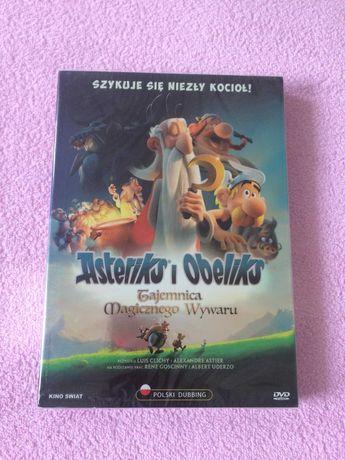 DVD Asteriks i Obeliks Tajemnica Magicznego Wywaru (nowa, folia)