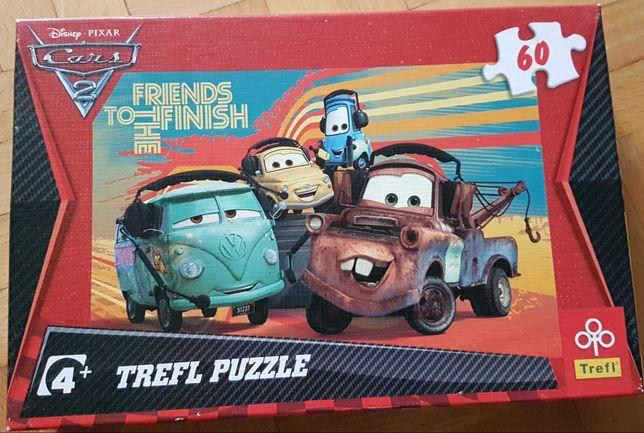 4 opakowania puzzli