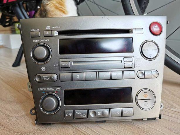 Radio panel klimatyzacji Subaru Legacy IV 03-09, LHD