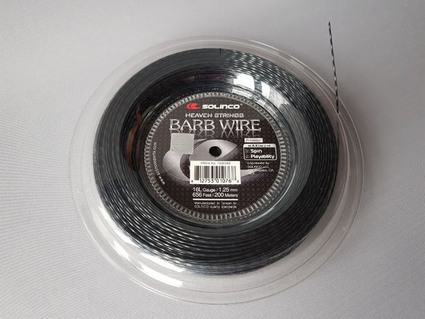 Solinco Barb Wire 16L/1,25 mm - 12 m - Naciąg tenisowy