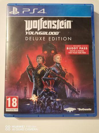 Ps4 Wolfenstein Youngblood deluxe edition (możliwa zamiana)