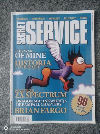 Czasopismo secret service numer 98 2014rok