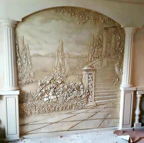 Художественная роспись стен и фасадов зданий
