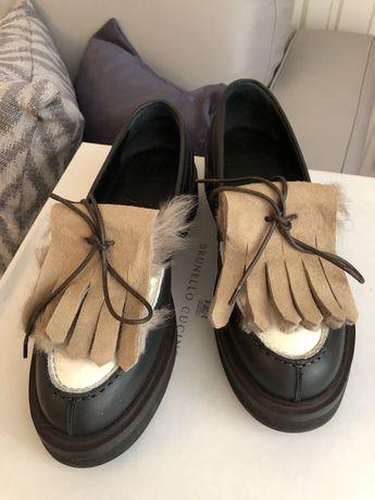 Ботинки туфли лофферы Brunello Cucinelli (как prada)