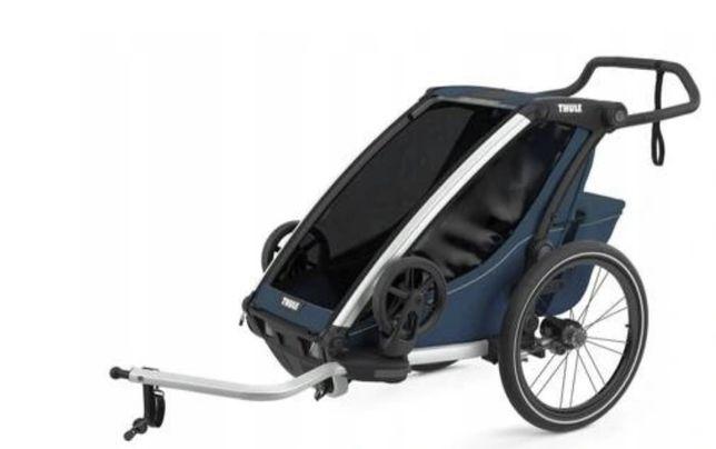 Przyczepka rowerowa dla dzieci Thule Chariot Cross1 Majolica Blue