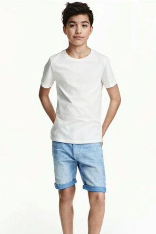 Джинсовые шорты H&M 12-14 л