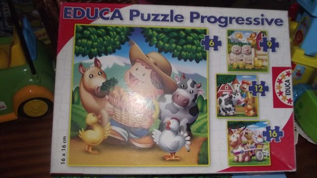Conjunto 3 Puzzles marca EDUCA