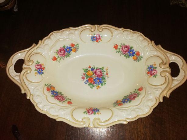 Żardiniera patera porcelanowa Tillowitz ogromna porcelana tillovitz