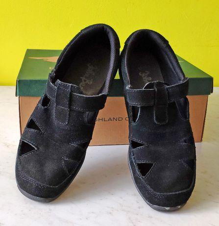 Skórzane sandały damskie rozmiar 40