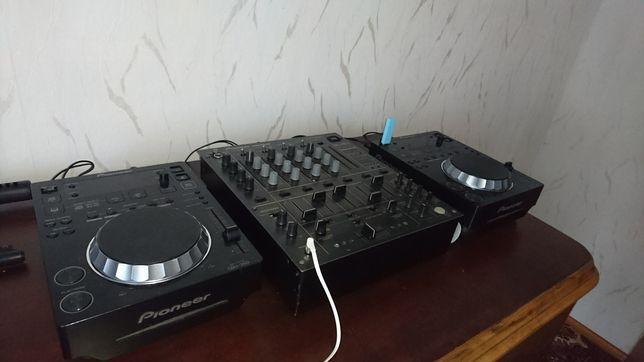 Konsola Mixer Pioneer DJM600 2x CDJ350 DJM 600 CDJ 350 Mikser DJ MIX
