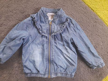 Kurtka bluzka jeansowa 74