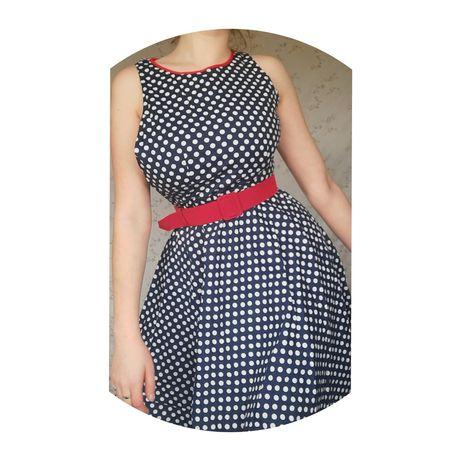 Sukienka w stylu pin up