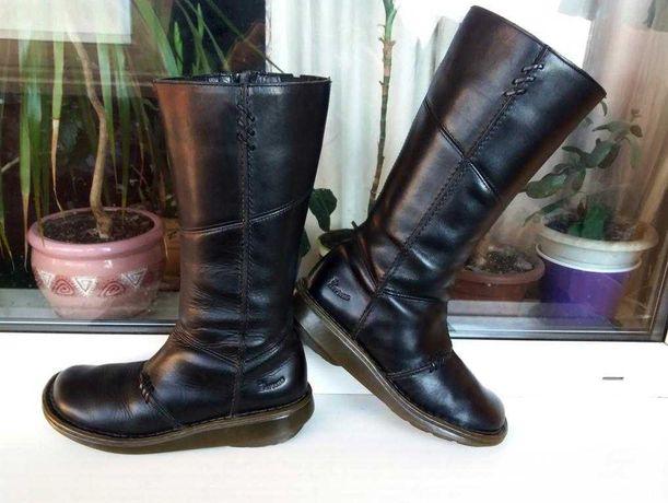 Редкие прочные кожаные женские сапоги Dr.Martens Оригинал Англия 38 р.