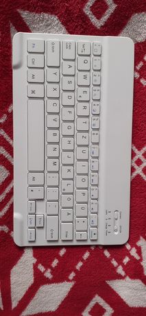 Klawiatura bluetooth biała tablet