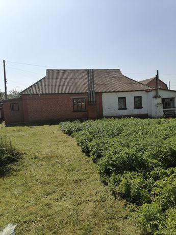 Продам дом в м. Гадяч або частинами пів дома