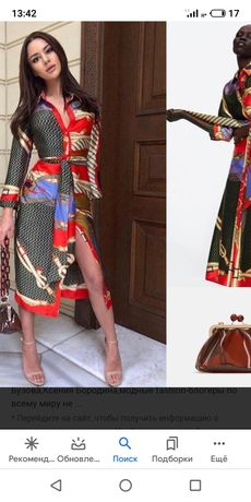 Платье zara .Очень эффектное и крпсивое.одето 1 раз.