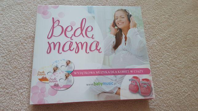 Płyta CD 3 szt. Będę mamą wyjątkowa muzyka dla kobiet w ciąży
