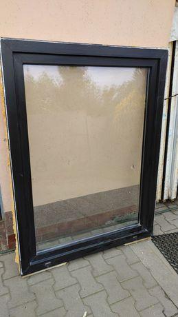 Okno plastikowe 164x106 - ciemny brąz