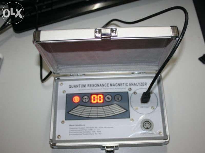 Analisador de Ressonância Magnética Quântica 52 relatórios 6G nova ger