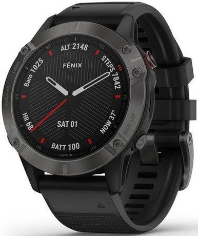 Garmin Fenix 6 Sapphire Carbon Gray DLC - APEX24 Gdynia
