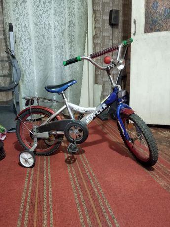 Продам велосипед от 4 до 8 лет, 16 колёса