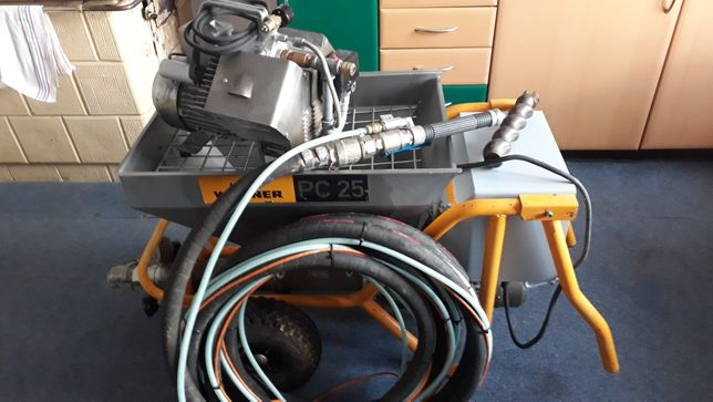 Agregat  Wagner  PC25 +kompresor v-mekko 400
