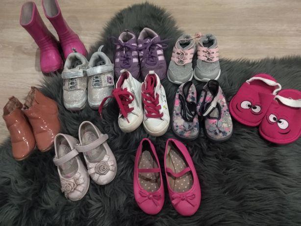 Buty kalosze dla dziewczynki 21-22